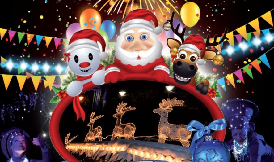 Le Bourget fête Noël: les allumeurs d'étoile