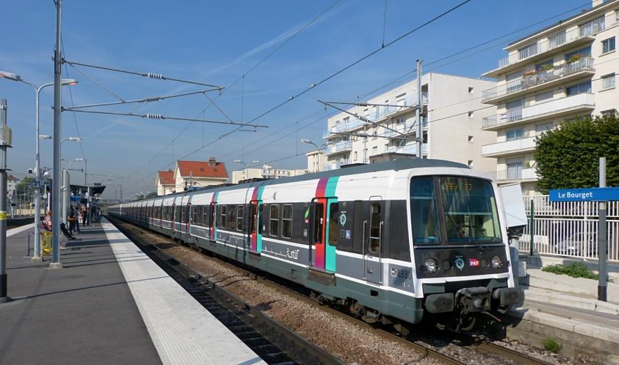 RER B: trafic interrompu les 12 et 13 août