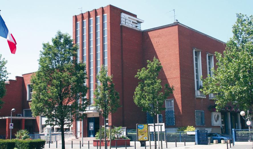 Site officiel de la mairie du bourget