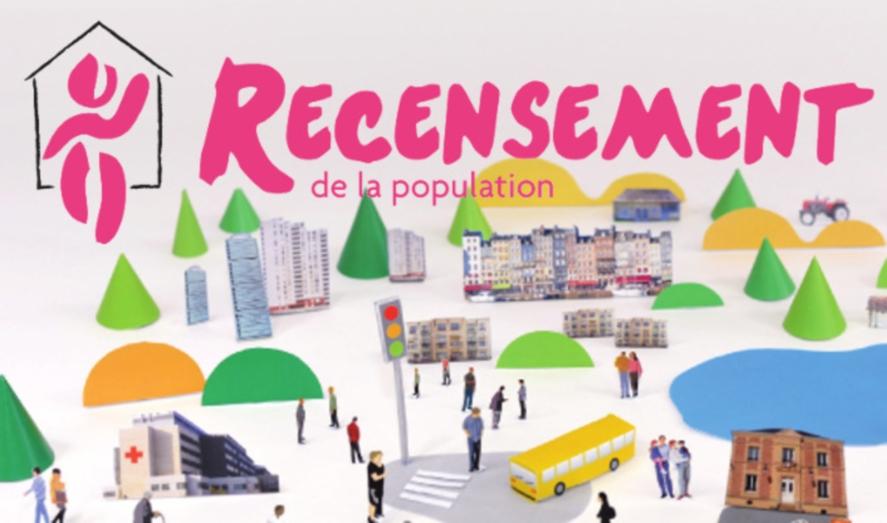 Recensement de la population du 17 janvier au 23 février
