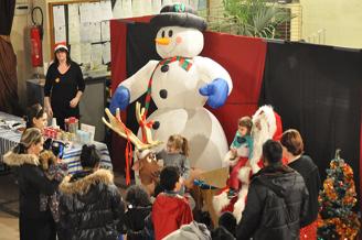 Le Bourget fête Noël (20/12/2015)