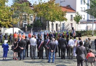 72e anniversaire de la libération du Bourget