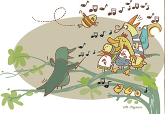 Atelier comptines et chansons enfantines (3 à 14 ans)