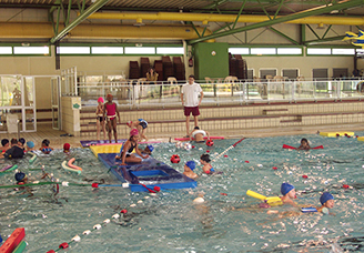 Fermeture de la piscine pour travaux