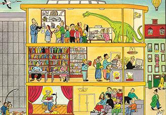 Exposition: Ca fourmille!, de Suzanne Rotraut Berner