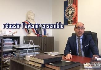 Vidéo: message de voeux de Yannick Hoppe, Maire du Bourget, pour 2019