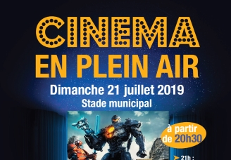 Cinéma en plein air: Pacific Rim Uprising