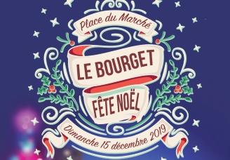 Le Bourget fête Noël: animations et spectacle pyrotechnique sur la place du Marché