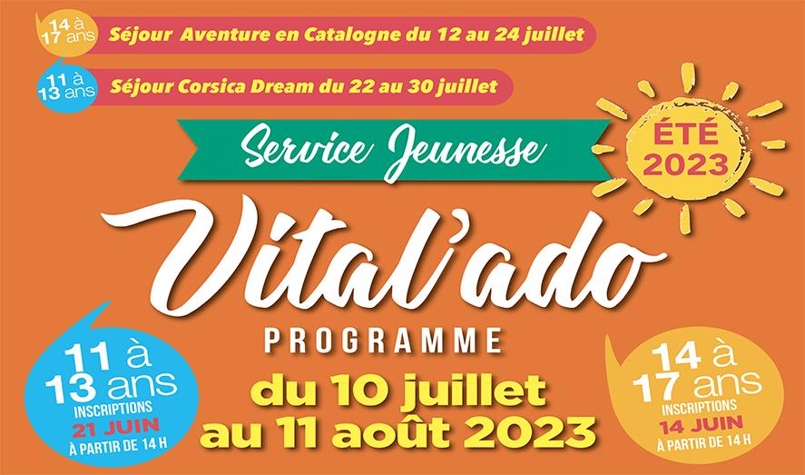 Vital'ado du 06 juillet au 13 août 2021