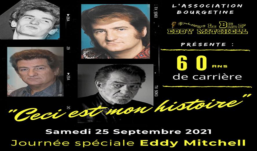 SAMEDI 25 SEPTEMBRE - 60 ans de carrière d'Eddy Mitchell