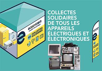 23 janvier 2021 - collecte solidaire de tous les appareils électriques et Électroniques