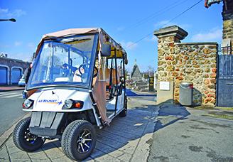 Les golfettes: le nouveau service de transport pour les Bourgetins
