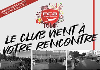 FCBourget Tour: le club de football fait sa tournée des quartiers!