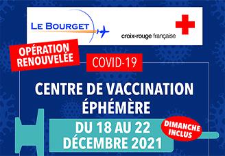 Le centre de vaccination est ouvert du 6 au 13 août